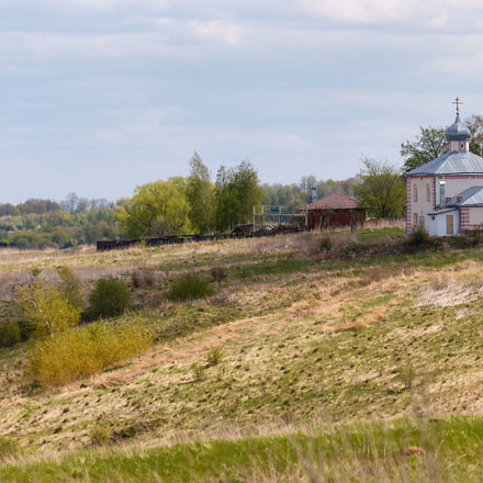 Tula Oblast. Village Nikitskoye, Canon EOS 550D, Sigma 50-200mm f/4-5.6 DC OS HSM
