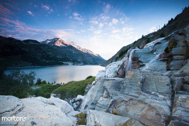 Photograph Lake Tignes, France by Stefan Mertens on 500px