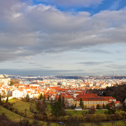 Prague in late afternoon, Canon EOS 600D, Canon EF-S 10-22mm f/3.5-4.5 USM
