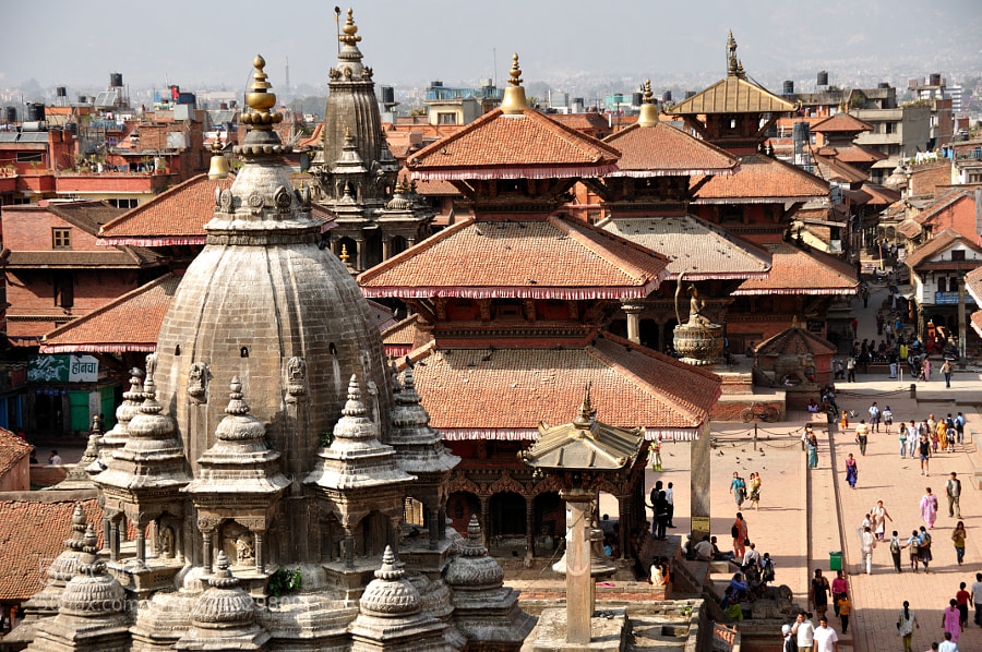 Photograph Patan Durbar Square View by Csilla Zelko on 500px
