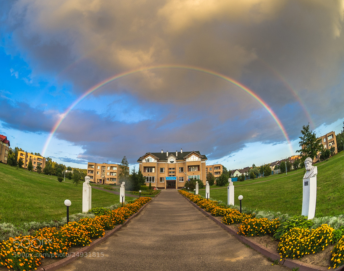 Photograph Double Rainbow by Mihail Bidnichenko on 500px
