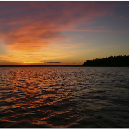 Karelian sunset, Panasonic DMC-LC70