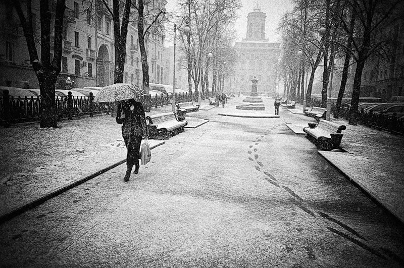Photograph first snow by Ivan Uralsky on 500px