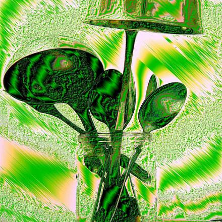 Green mood., Sony DSC-P93