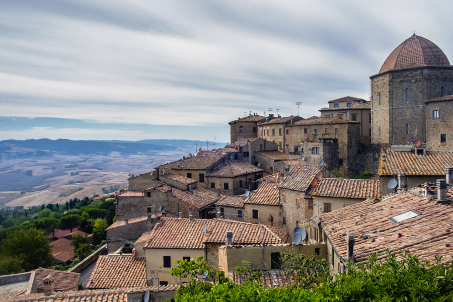 Volterra, Tuscany, historic city by Claudio G. Colombo on 500px.com