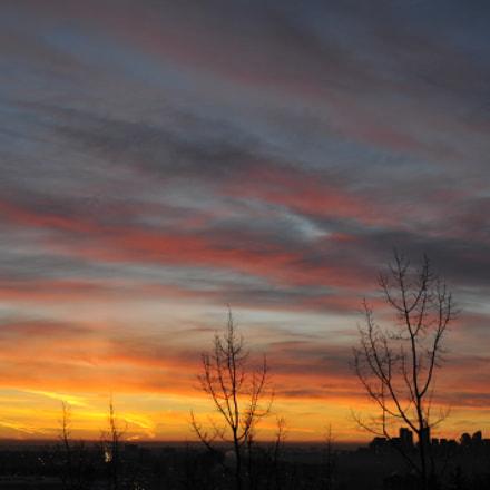 Moments before sunrise, Nikon D700, AF Micro-Nikkor 55mm f/2.8