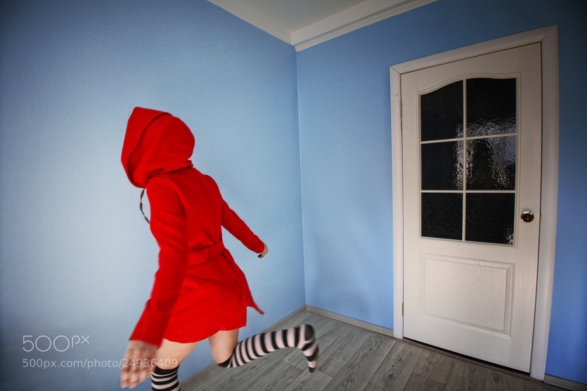 Photograph Escape in the blue room by Asya Orlova on 500px