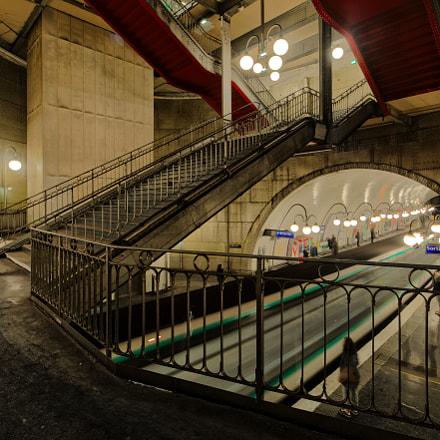 Paris subway, Canon EOS 70D, Canon EF-S 10-22mm f/3.5-4.5 USM