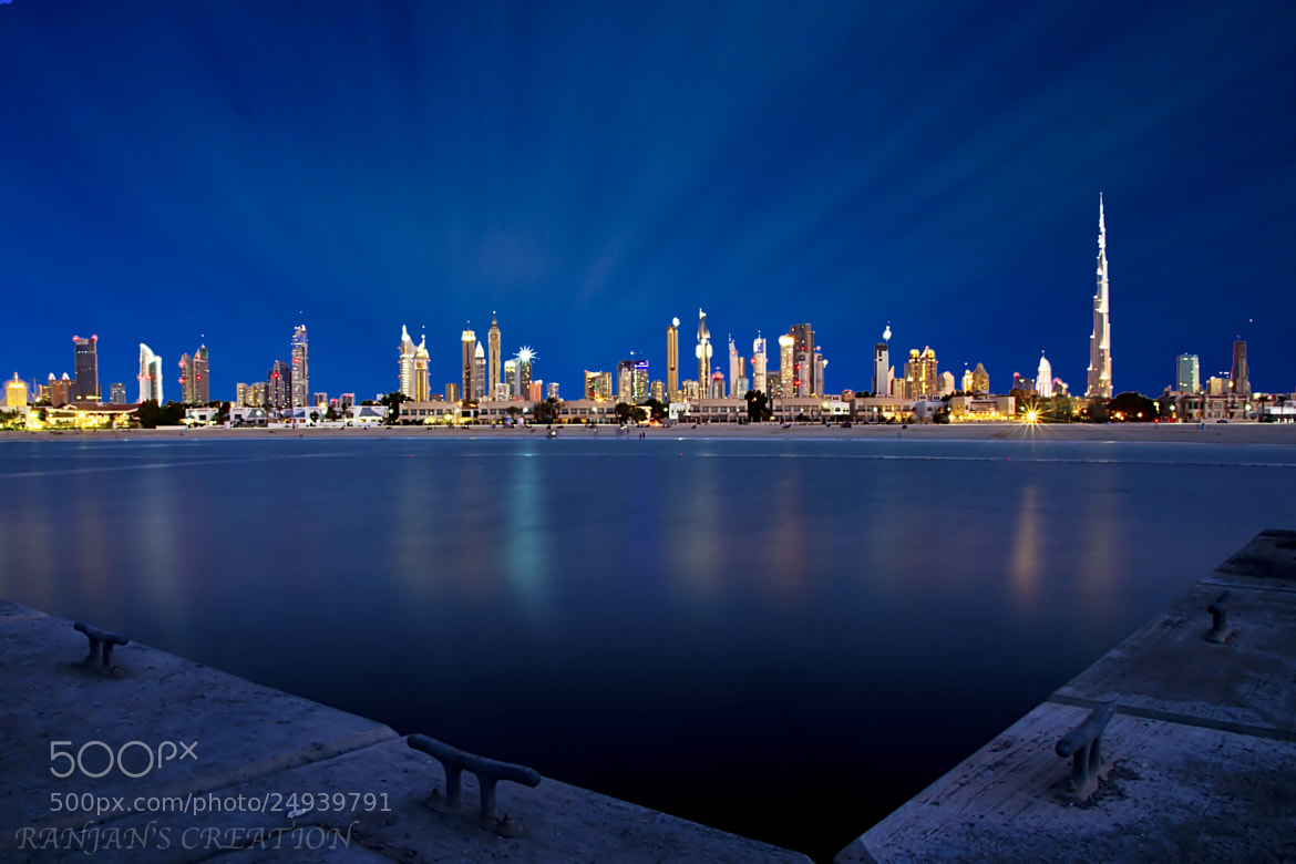 Photograph Burj Khalifa from Jumeirah Beach by RANJAN SM on 500px