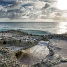Low tide at Vista Blue, Bonaire.