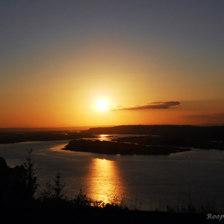 Sunset, Nikon COOLPIX S2500