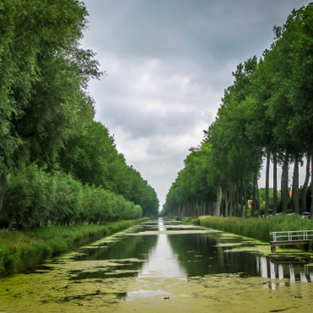 Damme canal, Canon POWERSHOT SX100 IS