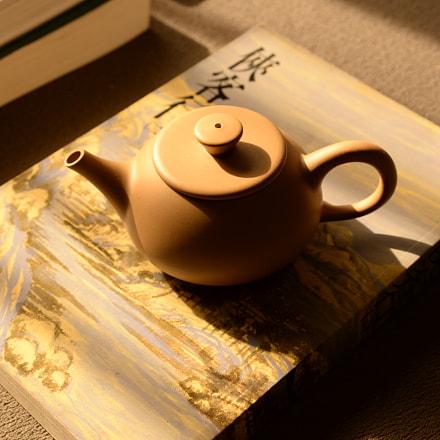 Handmade Gongfu Teapot, Nikon DF
