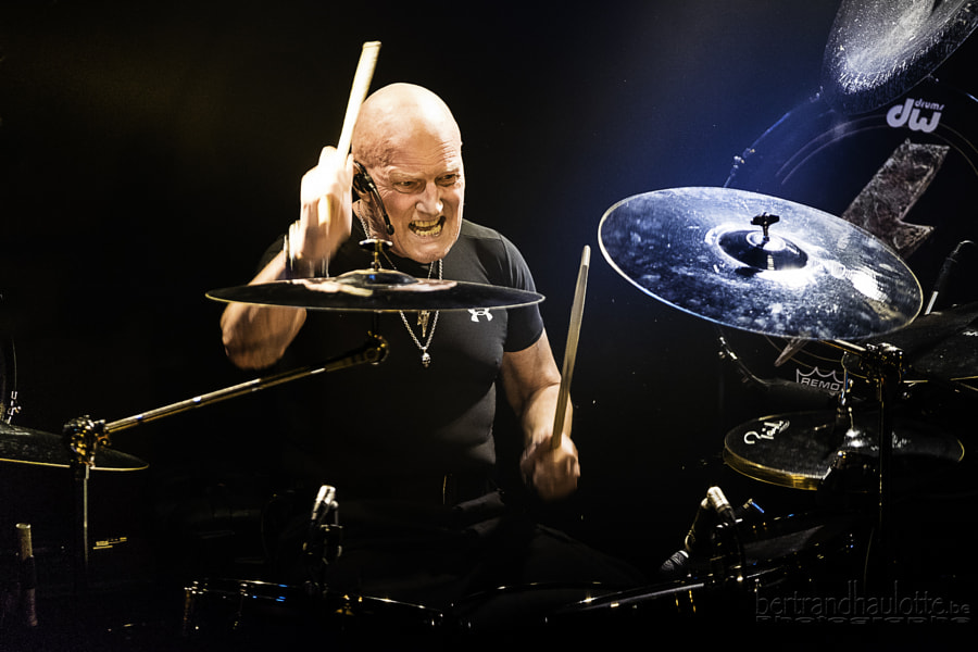 Chris Slade (ACDC) by Bertrand Haulotte on 500px.com