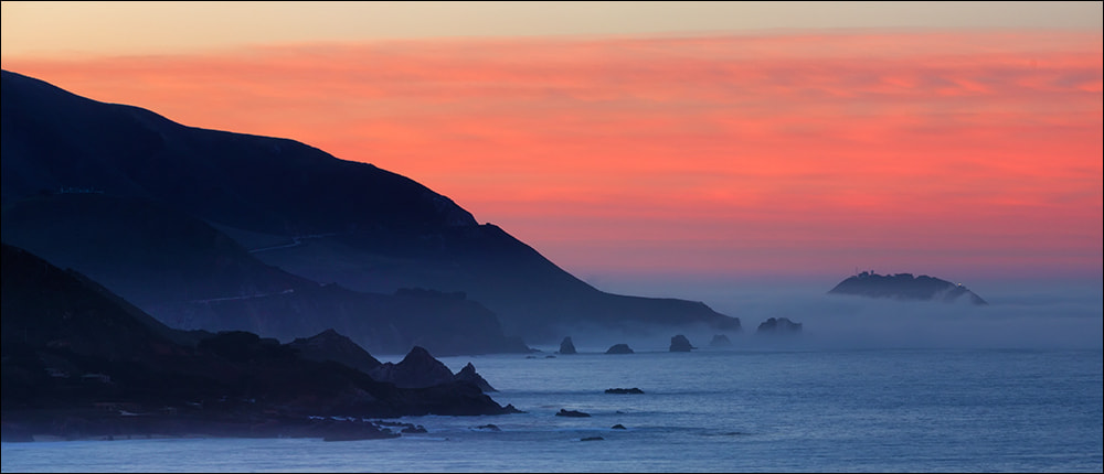 Photograph Dawn Hues, Big Sur Coast by Don Smith on 500px