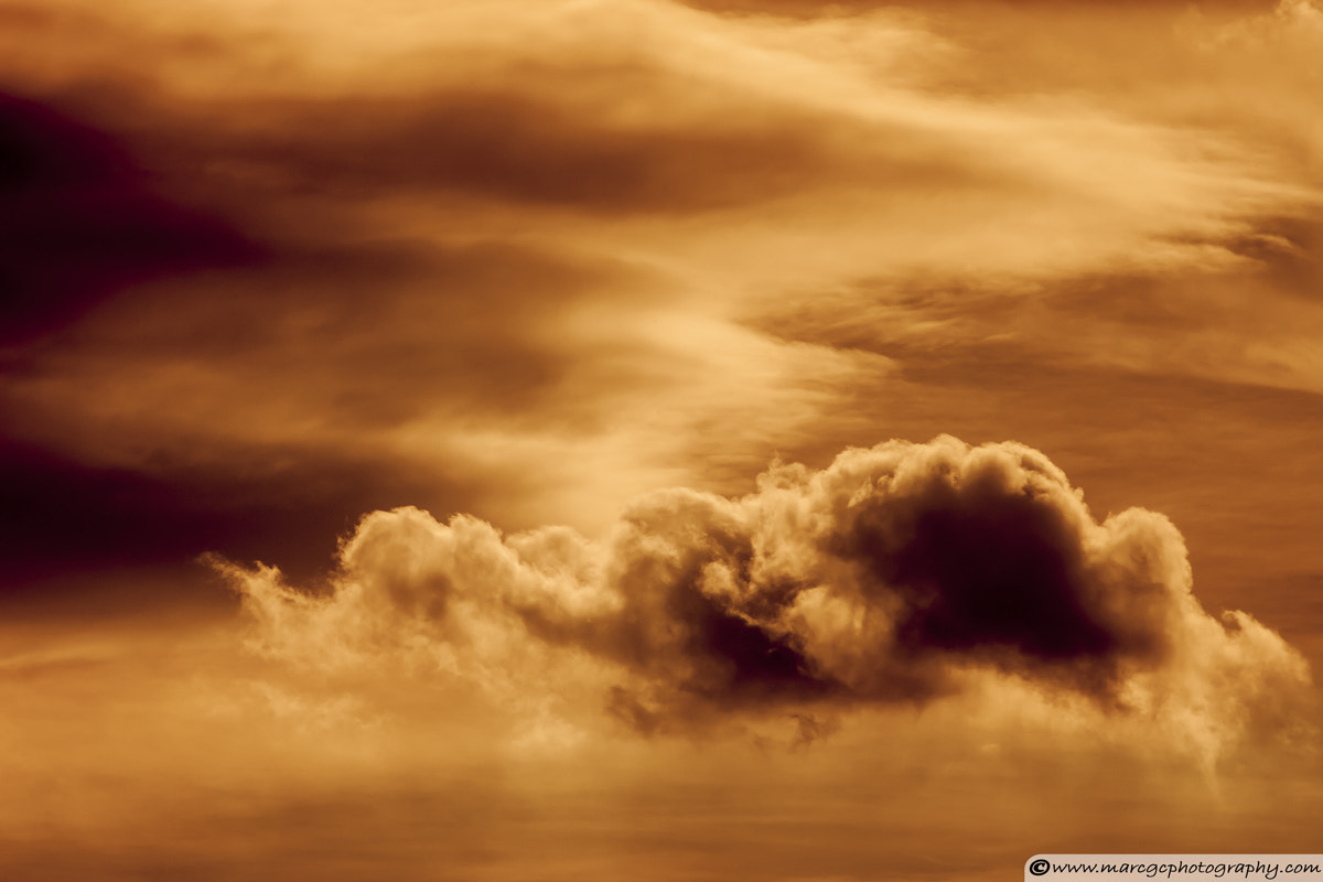Photograph Golden Clouds by Marc Garrido on 500px