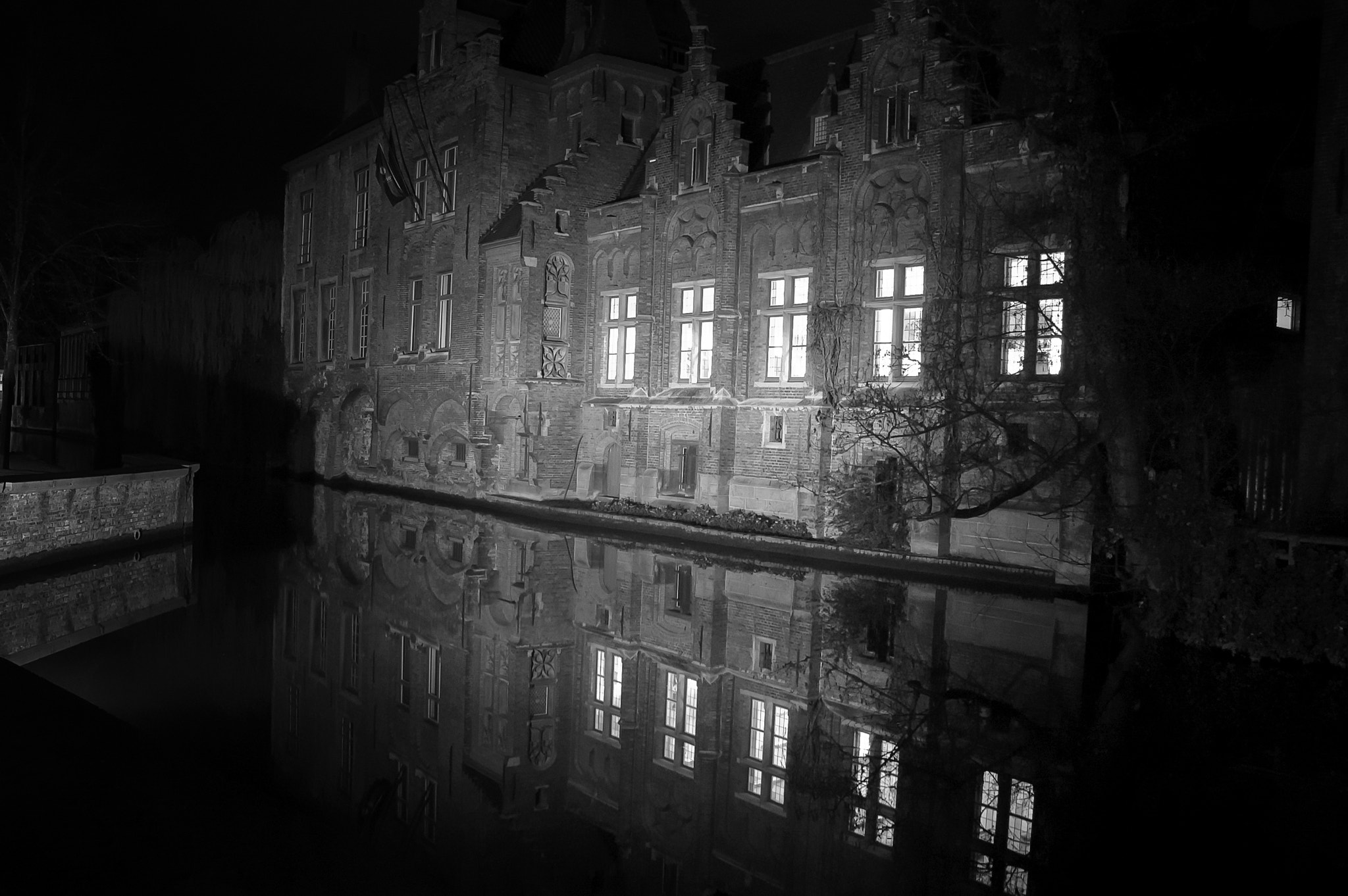 Photograph Brugge - reflections by Magdalena Warmuz-Dent on 500px