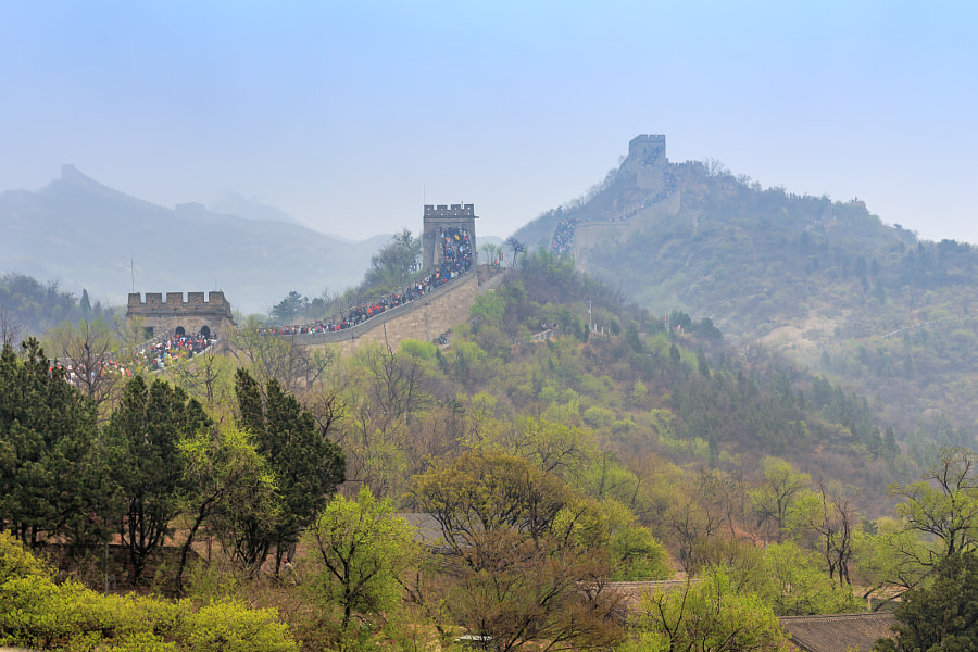 Conquest of the Great Wall by Manfred Münzl on 500px.com