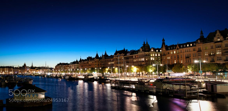 Photograph Deep blue by Örjan Gustavsson on 500px