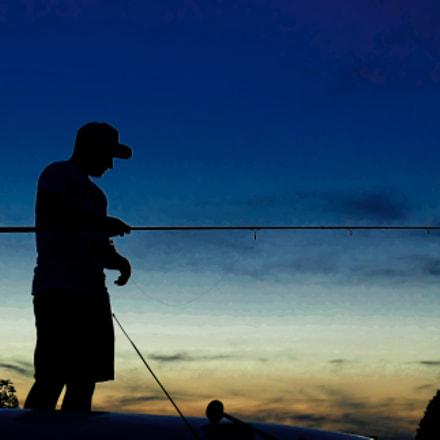 Sunset fishing, Panasonic DMC-TZ101