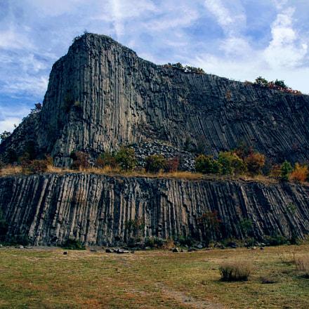 Basalt columns, Nikon D70, AF-S DX Zoom-Nikkor 18-70mm f/3.5-4.5G IF-ED