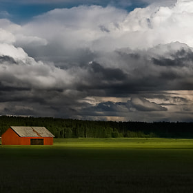 The Red Barn by Mikael Sundberg (Msundberg)) on 500px.com