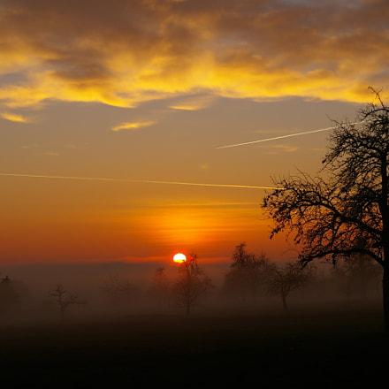 Dreamfully sunset, Pentax K100D SUPER, smc PENTAX-DA 18-55mm F3.5-5.6 AL