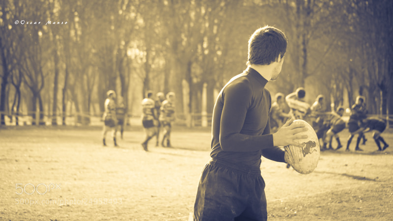 Photograph Rugby by Oskar Manso on 500px