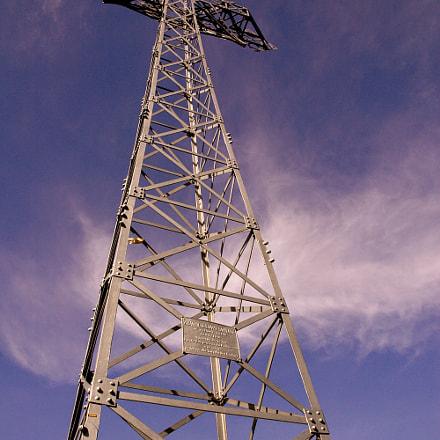 Summit cross, Nikon D70, AF-S DX Zoom-Nikkor 18-70mm f/3.5-4.5G IF-ED