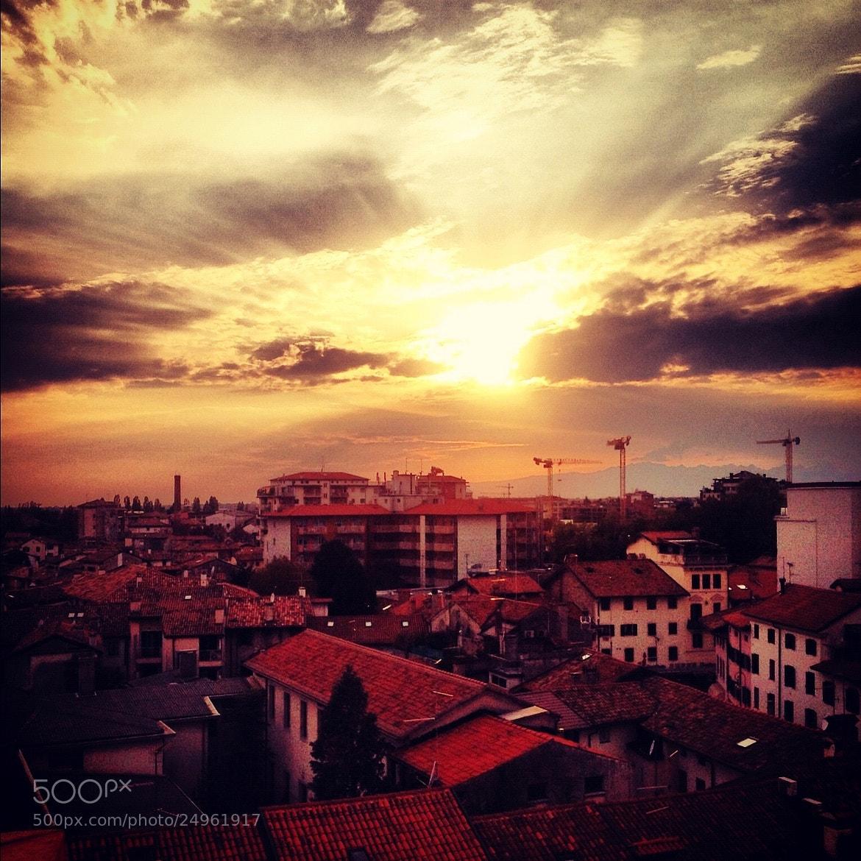 Photograph The sun decline by Emma Codraro  on 500px