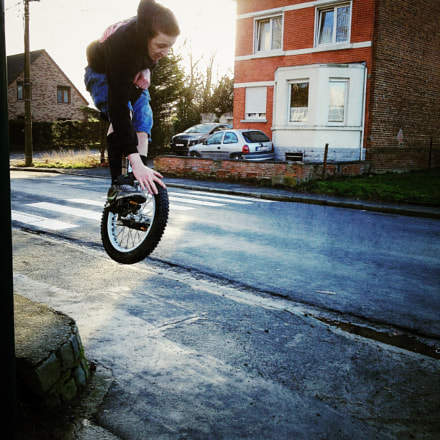 Thomas Jump Style!