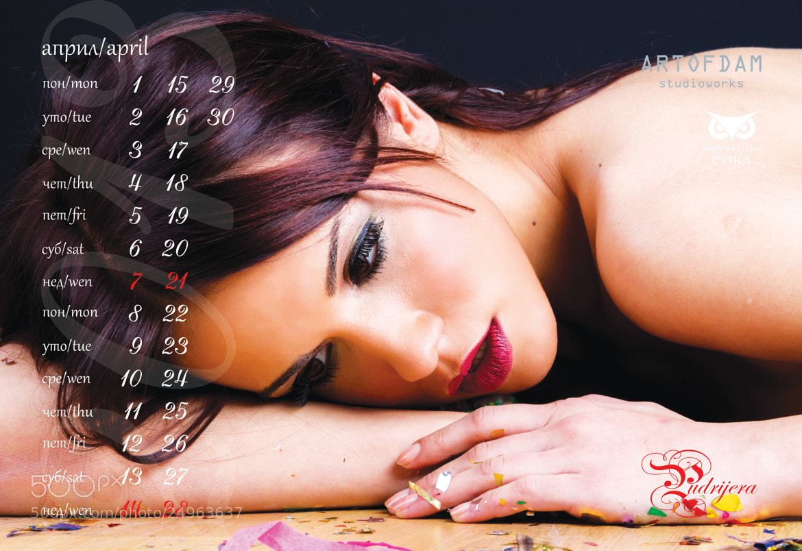 Photograph kalendar A3.cdr by Damjan Dasic on 500px