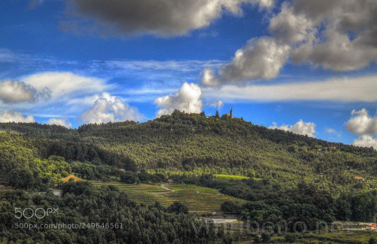"""Nikon COOLPIX S203 sample photo. """"Monte da penha"""" photography"""