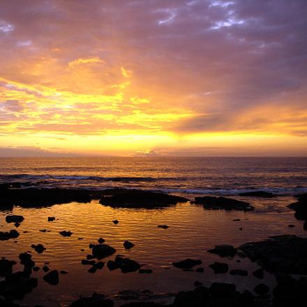 Sunset in kailua, Sony DSC-P100