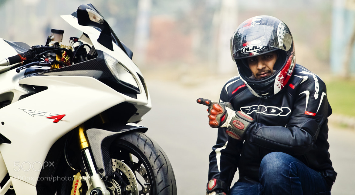 Photograph Aprillia RSV4 - Ride by Nitin Gupta on 500px