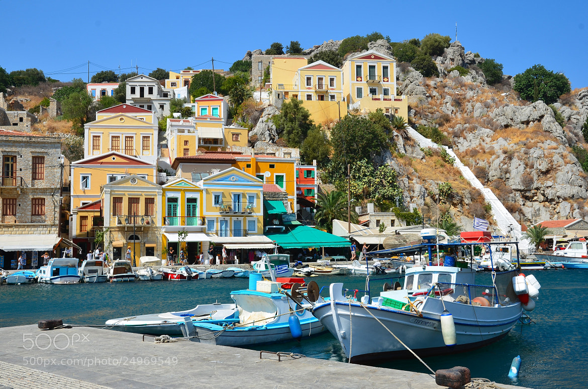 Photograph Symi. Grece. by Einar Westgaard on 500px