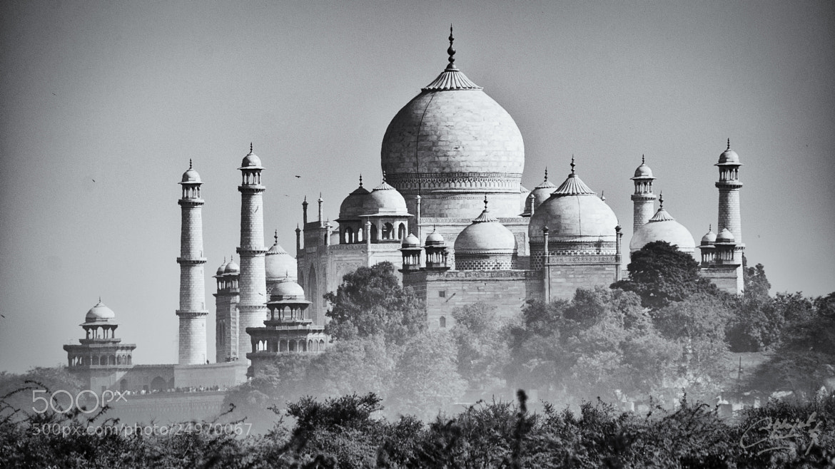 Photograph The Taj by Abhijeet Chakravarty on 500px