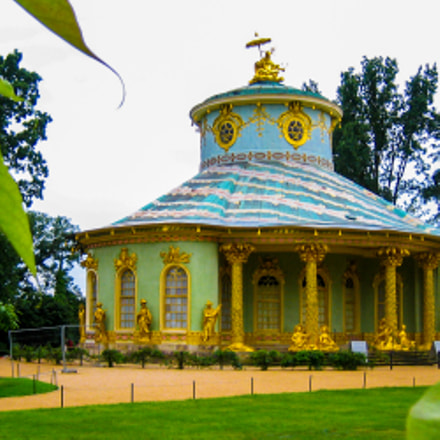 Potsdam Germany , Sanssouci, Canon DIGITAL IXUS 50