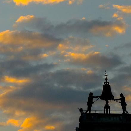 cielo al tramonto a, Fujifilm FinePix S200EXR