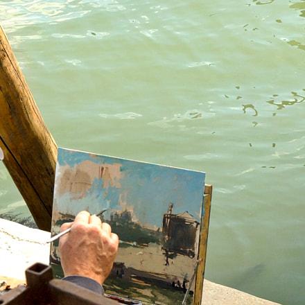 un pittore di laguna, Fujifilm FinePix S200EXR