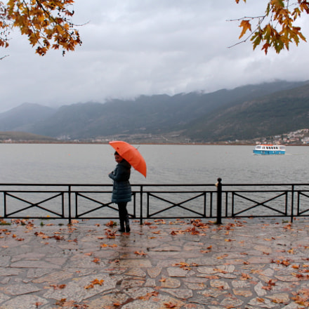 Rainy day by the, Canon EOS 1200D, Canon EF-S 18-55mm f/3.5-5.6 III