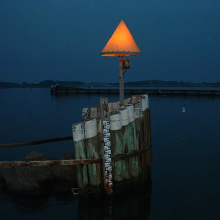 Maasholm Harbour at Night, Fujifilm FinePix S304