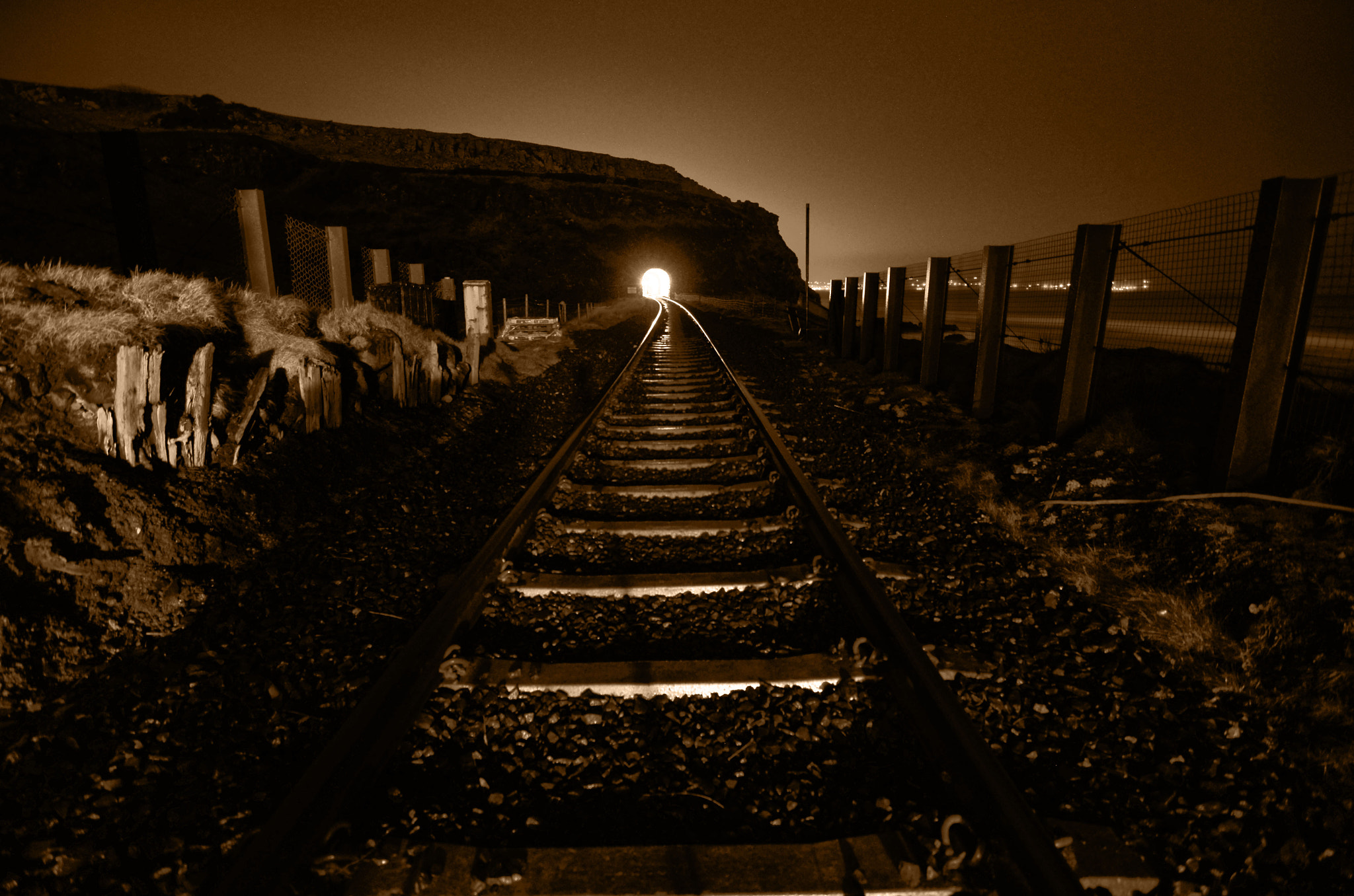 Photograph LIGHT AT THE END OF THE TUNNEL? by Owen Anderson on 500px