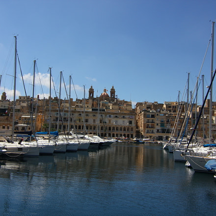 Malta and the marina, Canon EOS 550D, Tokina AT-X 116 AF Pro DX 11-16mm f/2.8