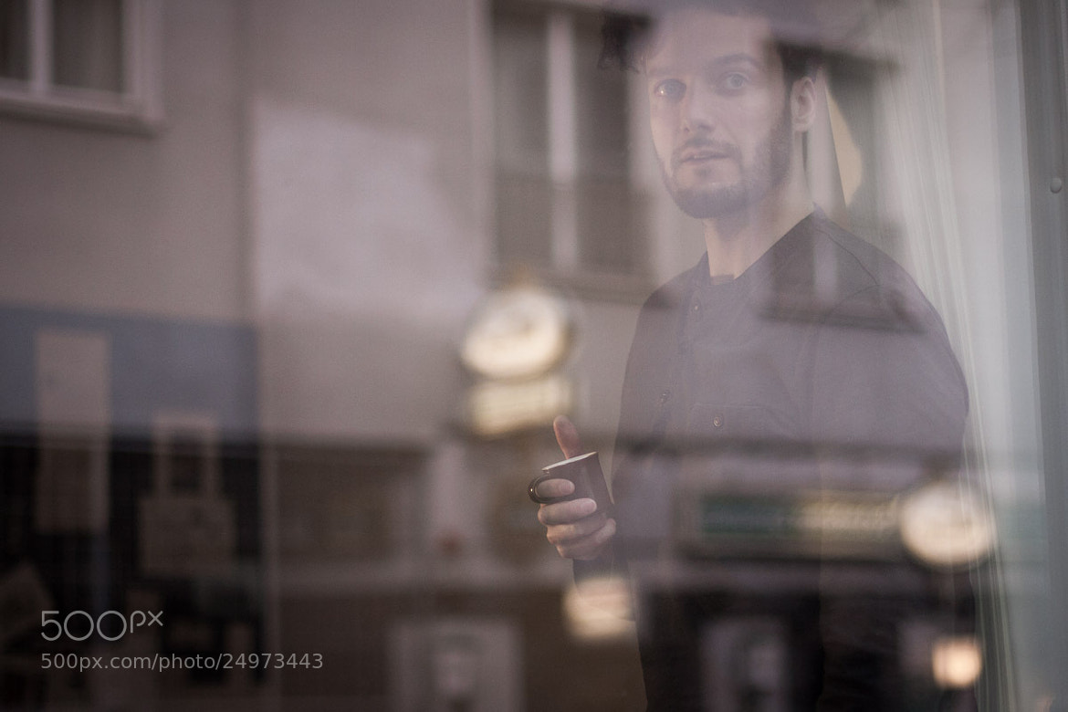 Photograph Watching the street by Max Sammet on 500px