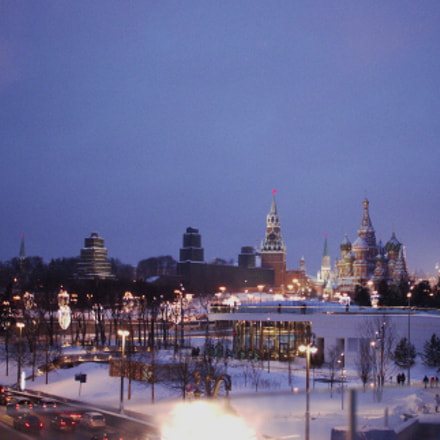 Moscow night, Canon EOS 500D, Canon EF-S 24mm f/2.8 STM