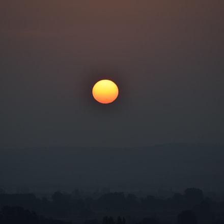 sunrise, Nikon D3300, AF-S DX Nikkor 55-200mm f/4-5.6G ED VR II