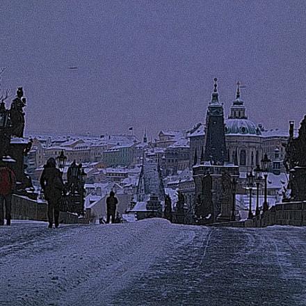Winter morning, Panasonic DMC-FZ100