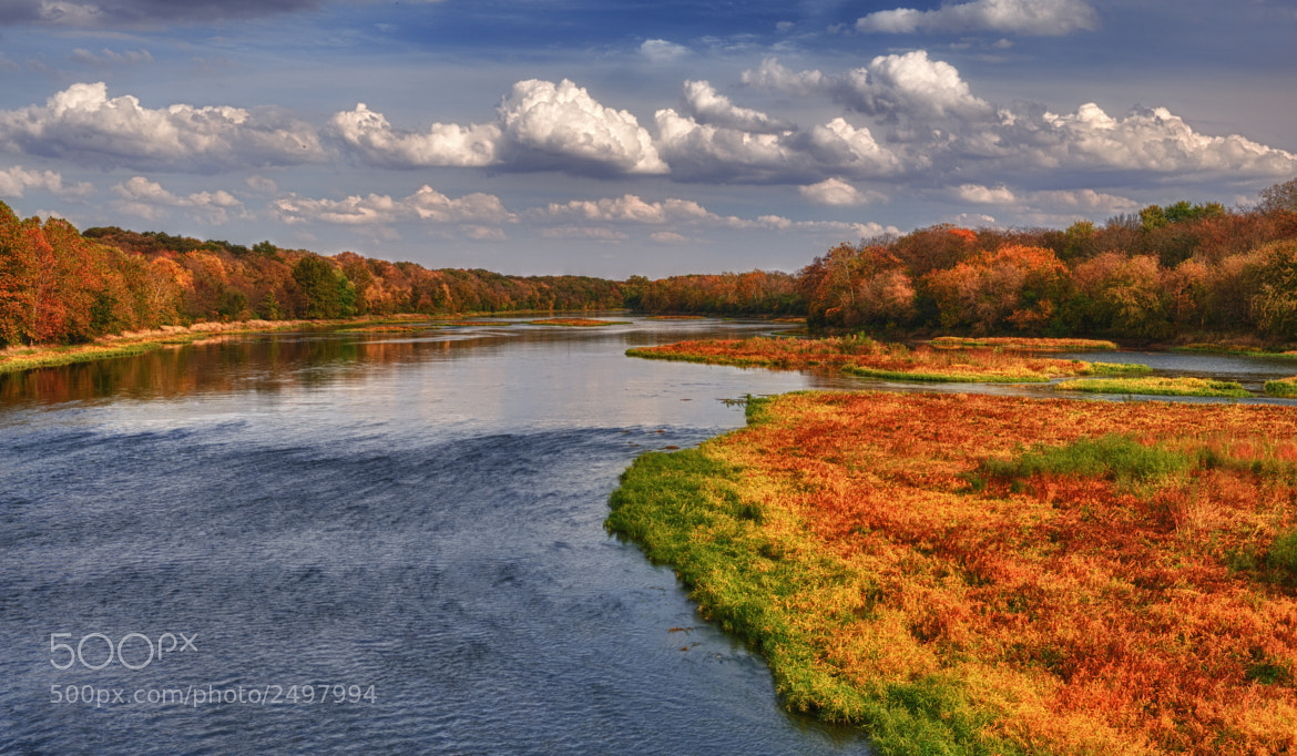 Photograph Autumn on the Kankakee River by Glenn Nagel on 500px
