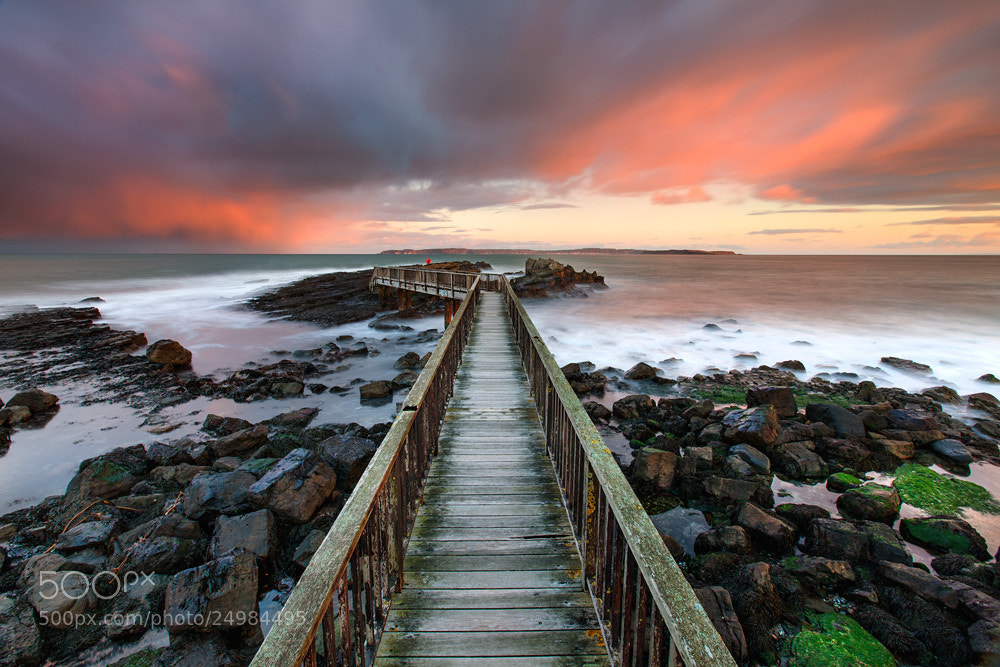 Photograph Pans Rocks Jetty by Stephen Emerson on 500px